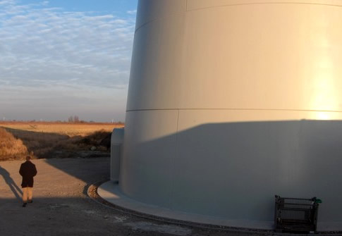 Enercon E126 Bottom - Worlds Largest Wind Turbine