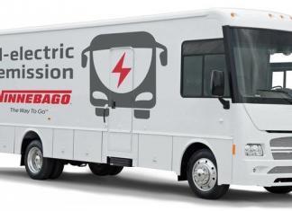 Autocaravana Elétrica Winnebago